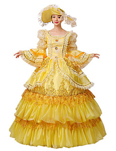 Steampunk@Women's Flare Sleeve Fairy Godmother Costume with Free Petticoat