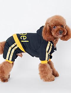Собаки Толстовки Черный / Розовый Одежда для собак Зима / Весна/осень Буквы и цифры На каждый день / Спорт