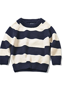 Boys' Casual/Daily Striped Sweater & Cardigan,Cotton Spring Fall Winter Long Sleeve