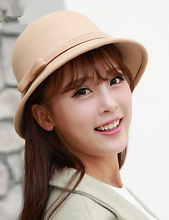 כובע כומתה (בארט) / כובע קלושה\עם שוליים רחבים / כובע דלי / כובע פאדורה / כובע בייסבול נשים וינטאג' / חמוד / מסיבה / עבודה / יום יומי,