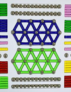 Magnetic Blocks Voor cadeau Bouwblokken Cirkelvormig Cilindrisch Metaal 5 tot 7 jaar 8 tot 13 jaar 14 jaar en ouder Speeltjes