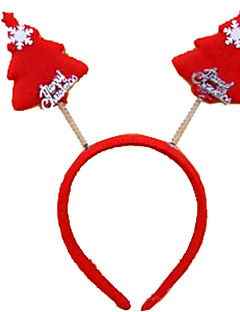 Prázdninové šperky Červená Pryskyřice Cosplay doplňky Vánoce