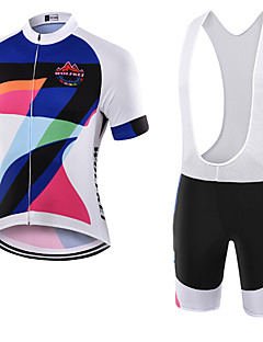 WOLFKEI Summer Cycling Jersey Short Sleeves BIB Shorts Ropa Ciclismo Cycling Clothing Suits #27