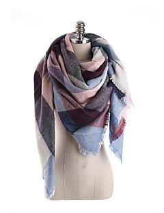Damen Freizeit Kunstpelz Schal,Rechteck / Quadratisch Einfarbig Winter