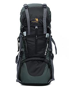 65 L Pacotes de Mochilas / Organizador de Viagem / mochila Acampar e Caminhar / Viajar Ao ar Livre MultifuncionalVermelho / Preto / Azul