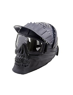 Masker geinspireerd door Devil May Cry Geest Anime Cosplay Accessoires Masker Zwart / Geel / Groen Hars Mannelijk