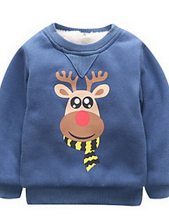 Boy Casual/Daily Solid Hoodie & Sweatshirt,Cotton Winter / Fall Long Sleeve Regular