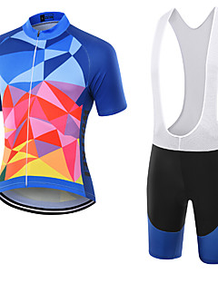 WOLFKEI Summer Cycling Jersey Short Sleeves BIB Shorts Ropa Ciclismo Cycling Clothing Suits #31