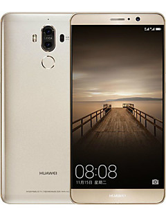 "Huawei Mate 9 5.9 "" Android 7.0 4G Smartphone (Dual - SIM Octa Core 12 MP 20 MP 4GB + 64 GB Gold Weiß Braun)"
