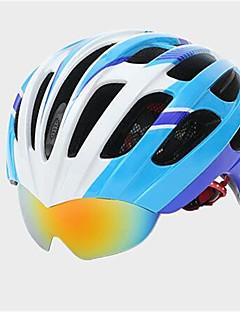 קסדה-יוניסקס-הר / כביש-רכיבה על אופניים / רכיבה על אופני הרים / רכיבה בכביש(לבן / ורוד / כחול / כתום,PC / EPS)25 פתחי אוורור