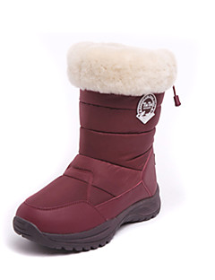 Women's Snow sports Mid-Calf Boots Winter Anti-Slip / Waterproof / Breathable Shoes Coffee / Gray / Black / Burgundy