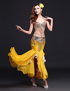 Θα πρέπει να χορεύουμε κοιλιά γυναικεία ρούχα spandex μπροστινή μέση