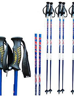 speciális egyirányú szén ski pole ski sport kellékek sí pole / kék és piros