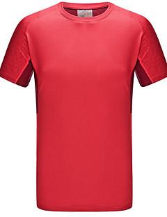 Mulheres Camiseta / Blusas Exercicio e Fitness / Corridas / Esportes RelaxantesRespirável / Secagem Rápida / A Prova de Vento /