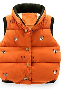 Boy Casual/Daily Print Vest,Polyester Winter / Spring / Fall Sleeveless