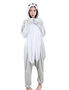 Kigurumi פיג'מות אריה פסטיבל/חג הלבשת בעלי חיים Halloween אפור טלאים מינק הקטיפה Kigurumi ל יוניסקס / נקבה / זכרהאלווין (ליל כל הקדושים)