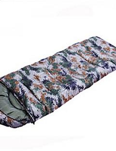 寝袋 封筒型 シングル 幅150 x 長さ200cm 10 ダックダウン 千グラム 230X100 キャンピング / 旅行 / 屋内 防水 / 防雨 / 防風性 / 通気性 / 折り畳み式 / 携帯式 / 圧縮袋 OEM