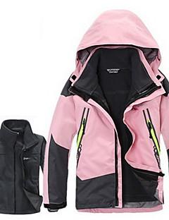 Mulheres Homens Crianças Blusas Acampar e Caminhar Esportes de Neve CorridaImpermeável Térmico/Quente A Prova de Vento Isolado