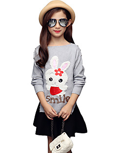 Girl Casual/Daily Polka Dot Blouse,Cotton All Seasons Spring Fall Long Sleeve Regular