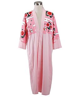 Inspirovaný Dead Cosplay Anime Cosplay kostýmy Cosplay šaty Jednobarevné Kimono Pro