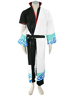 Gintama Anime Cosplay Costumes Kimono Coat / Coat / Pants / Belt Male