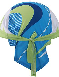 כובעים כובע Headsweat אופנייים נושם ייבוש מהיר עמיד מבודד מגביל חיידקים מפחית שפשופים תומך זיעה רך קרם הגנה לנשים לגברים יוניסקס ירוק