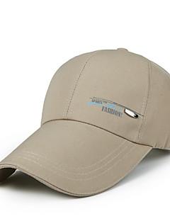 כובע עמיד אולטרה סגול יוניסקס כדור בסיס קיץ לבן אדום שחור פשתני בייז'-ספורטיבי®