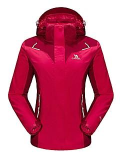 Camel Women's Interchange 3-in-1 Active Waterproof Outdoor Sports Jacket Color Red/Blue