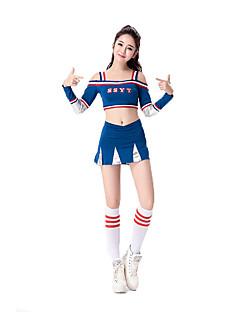 Costumi Cosplay Vestito da Serata Elegante Studente/Uniforme scolastica Costumi di carriera Feste/vacanze Costumi Halloween Blu Rosso