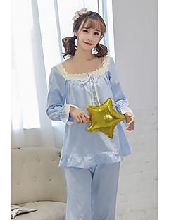 Damen Pyjama - Baumwolle Feste, nicht gewobene Baumwolle Modal