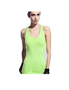 Yokaland®®יוגה צמרות נושם ייבוש מהיר נוח מגן מפחית שפשופים תומך זיעה מתיחה בגדי ספורט יוגה פילאטיס כושר גופני ספורט פנאי ריצה לנשים