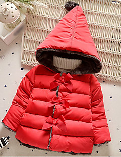 Girl's Casual/Daily Solid BlouseCotton / Polyester Winter / Spring / Fall Pink / Red / Gray