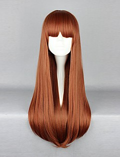 Gothic Lolita / sweet lolita 70 centímetros longo marrom lolita peruca