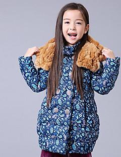 Girl Casual/Daily Polka Dot Down & Cotton Padded,Rayon Winter