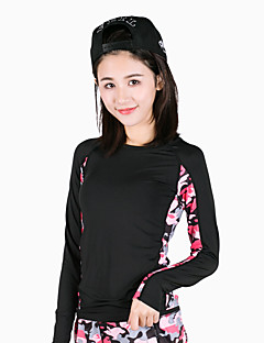 Women's Long Sleeve Running T-shirt Tops Breathable Quick Dry Spring Summer Sports Wear Yoga Exercise & Fitness Running Modal Polyester