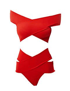 רצועות בד-אישה-טנקיני(פוליאסטר)
