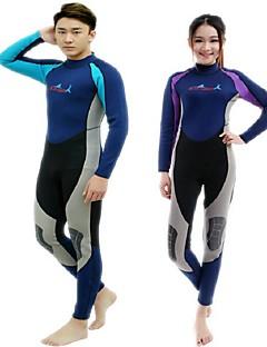 BlueDive® Unisex triatlon Plavky Potápěčské obleky Neopren Mokrý Sady oblečení/Obleky Diving SuitZahřívací Rychleschnoucí Odolný vůči UV