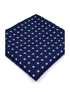 עניבה ואסקוט וינטאג' חמוד מסיבה עבודה יום יומי,גברים ריון כחול