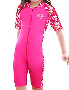 Unisex Floral Floral Swimwear,Nylon Spandex