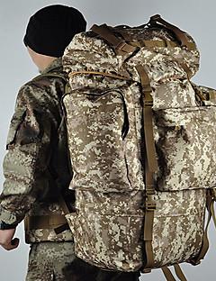 100 L Rygsæk pakker Laptop Pakker Bagage Rejse Duffeltaske rygsæk Fritidssport Campering & Vandring Rejse Løb Multifunktionel Nylon