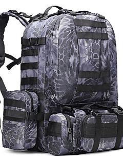 50 L Backpack Camping & Hiking Outdoor Multifunctional Black Dark Blue Army Green Camouflage Oxford Sports Rucksack Shoulder Bag Pack