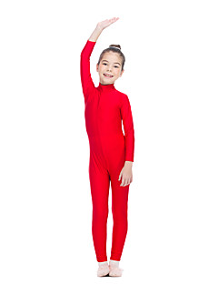 Ballet Unitards Women's Children's Training Nylon Lycra 1 Piece Long Sleeve Leotard