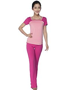 Yoga Kleidungs-Sets/Anzüge Atmungsaktiv Komfortabel Dehnbar Sportbekleidung DamenYoga
