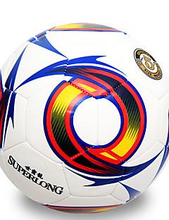 Høy Elastisitet Holdbar-Fotball(Hvit Rød,PVC)