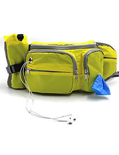 חתולים כלבים תיק גב בגדים לכלבים חורף קיץ קיץ/אביב אחיד ספורטיבי כתום צהוב כחול