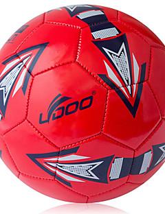 Høy Elastisitet Holdbar-Fotball(Rød,PVC)