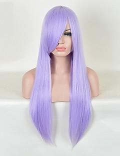 Cosplay Wigs Saint Seiya Saori Kido Purple Long Anime Cosplay Wigs 85 CM Heat Resistant Fiber Female