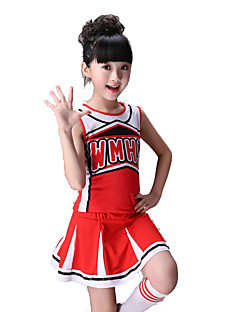 TenueElasthanneEnfant Au drapée Spectacle Costumes de Pom-Pom Girl Taille moyenne