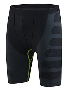 Men's Running Shorts Quick Dry Compression Comfortable Spring Summer Fall/Autumn Exercise & Fitness Leisure Sports RunningElastane