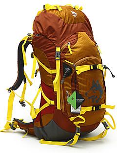 55 L Ruksak Outdoor a turistika Lezení Outdoor Výkon Voděodolný Odolné vůči dešti Voděodolný zip Odolné vůči prachu Žlutá Zelená Modrá